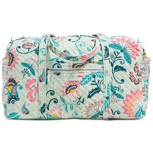 NWT Vera Bradley Mini Flowers Duffle Bag